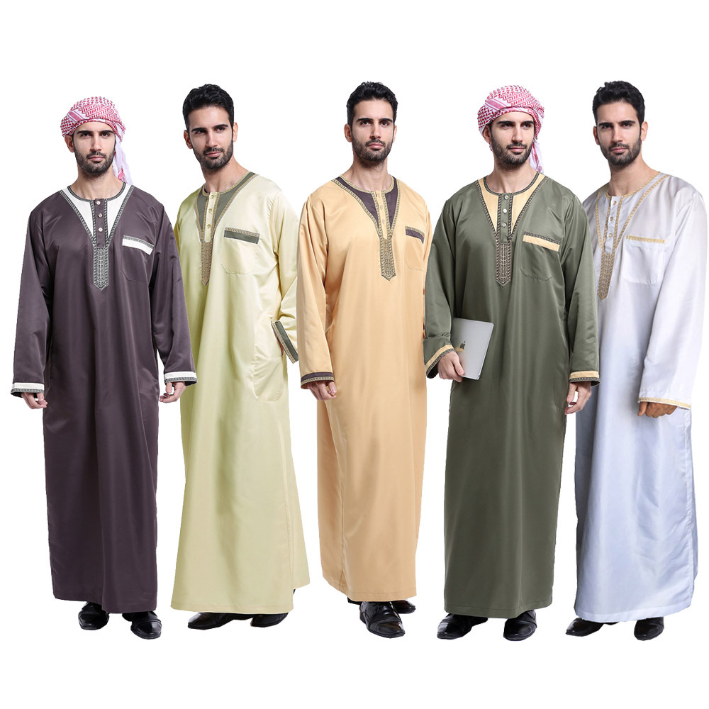 Arab Robes Middle East Of Muslim Ethnic Outfit Muslim Robe Hot Selling, Th802