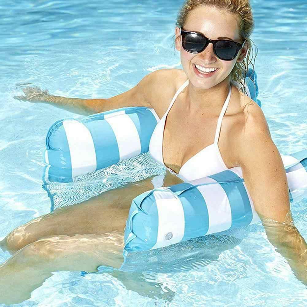 Надувной водный гамак открытый плавательный бассейн плавающая кровать Lounge стул Drifter для плавания BJStore