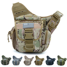 Multi-function Outdoor Military Tactical Waist Bag Sport Travel Chest Bag Shoulder Bag Crossbody Bag Pouch Camping Equipment D25 outdoor military tactical shoulder bag with usb charging chest bag wear resistant travel camping backpack cycling