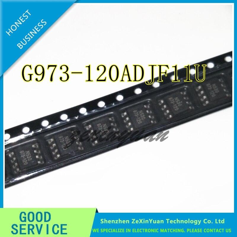 20PCS  G973-120ADJF11U G973-120 973-120 SOP-8 LCD Chip  Original IC