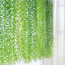 20PCS Artificial Plants Tropical Willow Leaf Leaves Hangging Vine For Diy Weding Decoration Garden Home Decor Accessories Plast