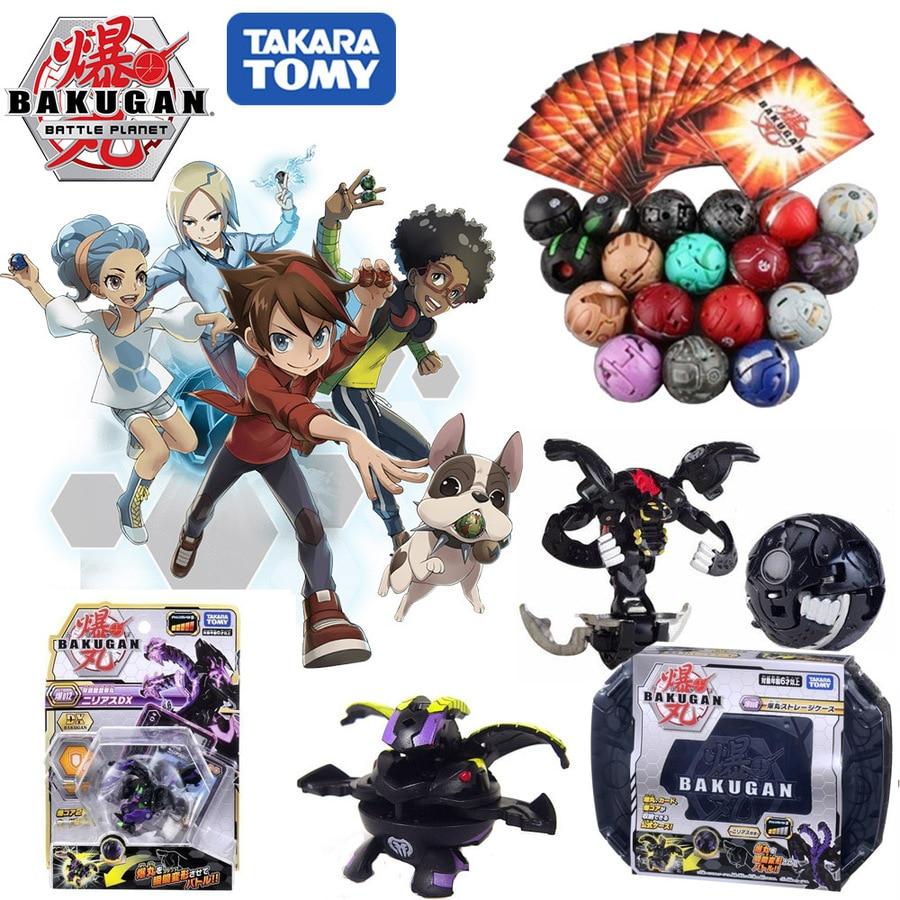 Takara Tomy Battle Planet Toys Ball Dragonid Bakugan Brawlers Starter Pack Spining Top Game Toys For Children