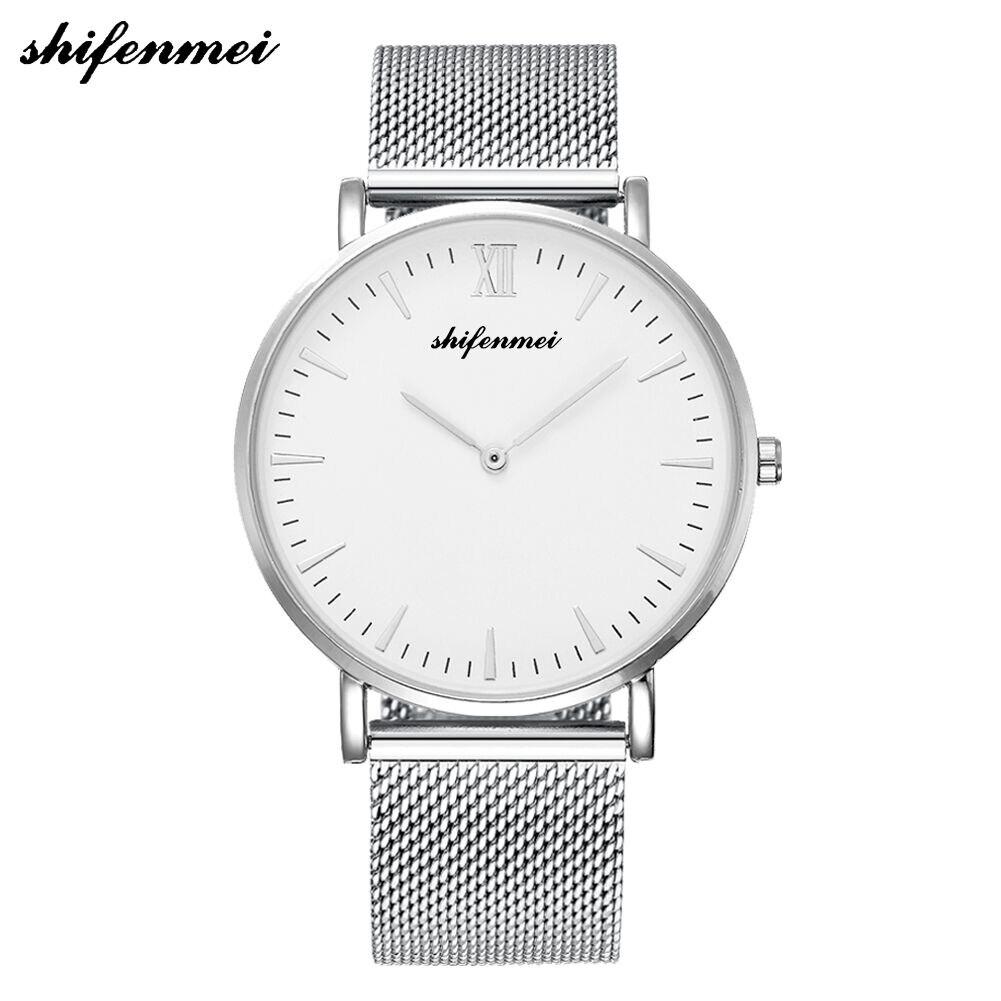 S1075e marca relógio masculino 2019 quartzo de pulso relógios masculinos luxo aço inoxidável relogio masculino casual masculino relógio de pulso