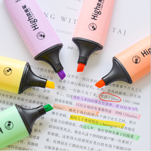 highlighter marker highlight mildliner Japanese stationery pen pastel highlighters invisible ink school neon magic