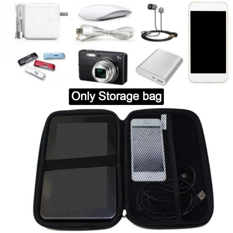 7 inch Hard Shell Storage Carrying <font><b>Case</b></font> Cover Car GPS Navigation Protective Bag Pouch For TomTom/<font><b>Sat</b></font>/<font><b>Nav</b></font>/Garmin Drive Smart 61 image