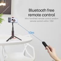 селфи палка Беспроводной вертикальную съемку палка для селфи и штатив с функцией Bluetooth мини Портативный 15 кг Playload смартфон селфи для iPhone ... 3
