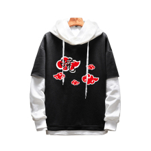 Fashion Men Women Hoodies Anime Naruto Uchiha Hoodie Pullover Hooded Lovers Sweatshirt Sportswear Cosplay Costume Outerwear Coat
