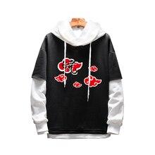 Mode Männer Frauen Hoodies Anime Naruto Uchiha Hoodie Pullover Mit Kapuze Liebhaber Sweatshirt Sportswear Cosplay Kostüm Oberbekleidung Mantel