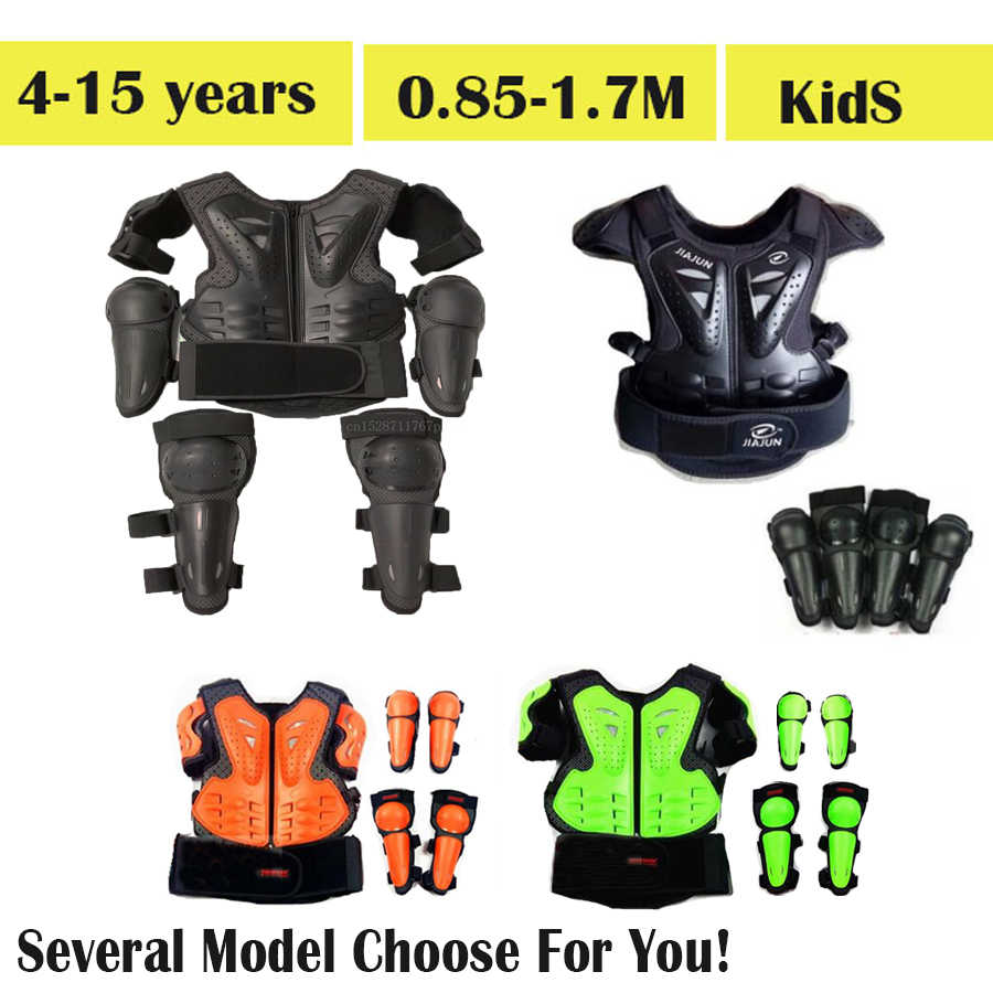 NEW GP-PRO KIDS MOTOCROSS MX BODY ARMOUR PROTECTOR JACKET CHILDS CHILDRENS BOYS