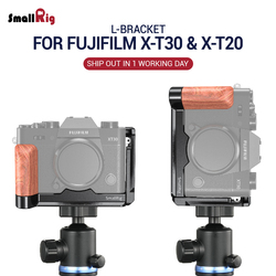 SmallRig XT 30 L Bracket for Fujifilm X-T20 & X-T30 L Plate Feature with Arca Style Quick Release Plate 2357