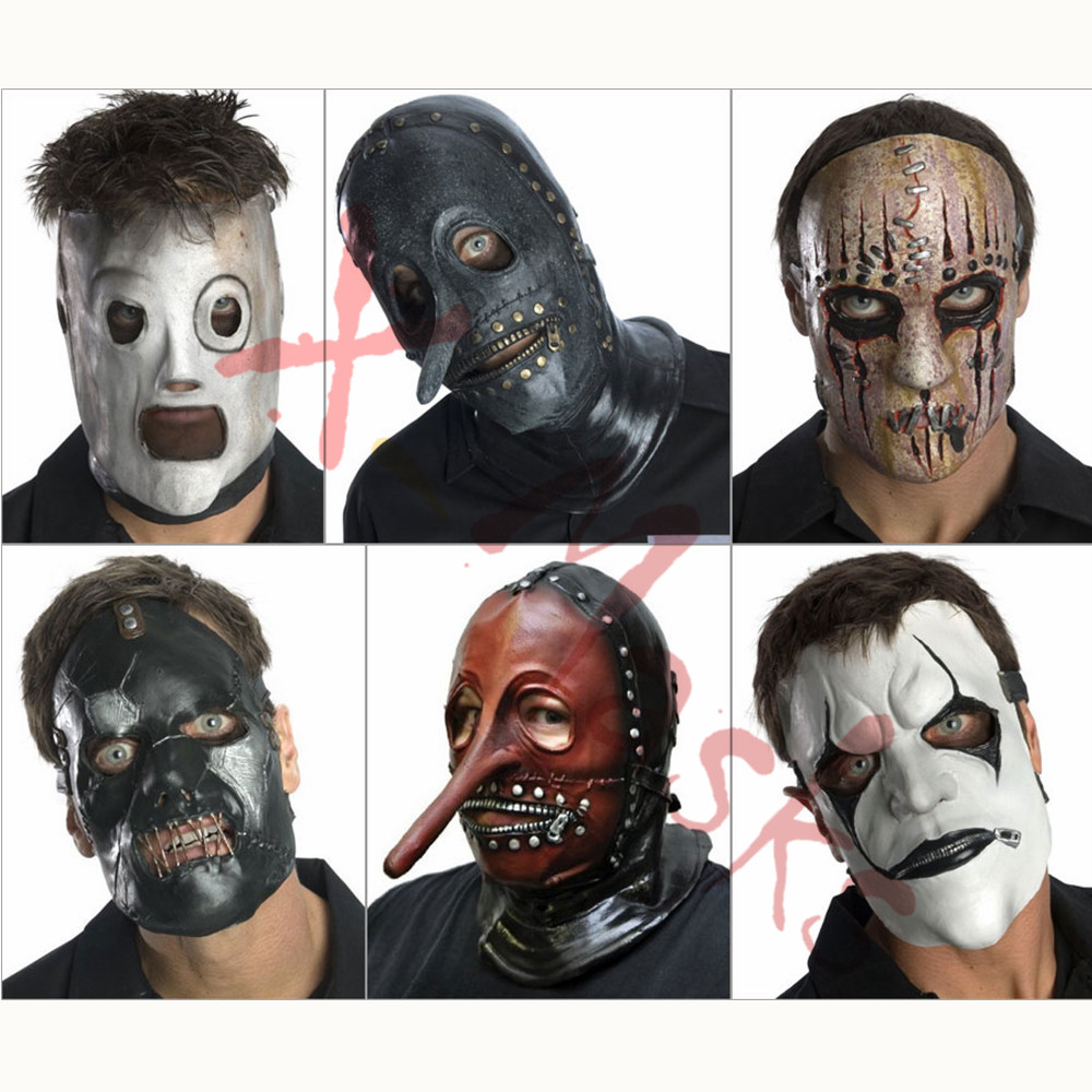 Slipknot Mask Slipknot Accessories Top Hat Toys Men Mick Corey Taylor Mascara Joey Shawn Crahan Cosplay Halloween Costume