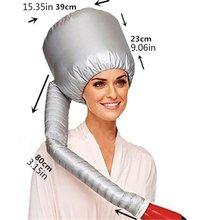 Портативный мягкий колпачок для сушки волос Капот Шляпа женская фен для волос Домашний парикмахерский салонный Регулируемый аксессуар