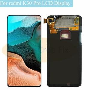 Image 2 - 6.67 סופר AMOLED עבור Xiaomi Poco F2 Pro LCD תצוגת מסך מגע Digitizer תחליפי חלקים עבור Xiaomi redmi k30 פרו LCD