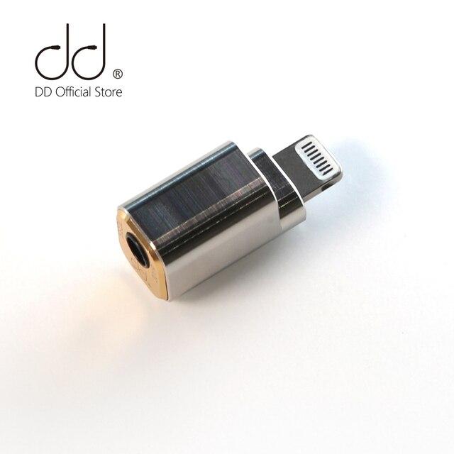 DD ddHiFi TC35i אפל ברקים לשקע 3.5 כבל מתאם עבור iOS iPhone iPad iPod touch