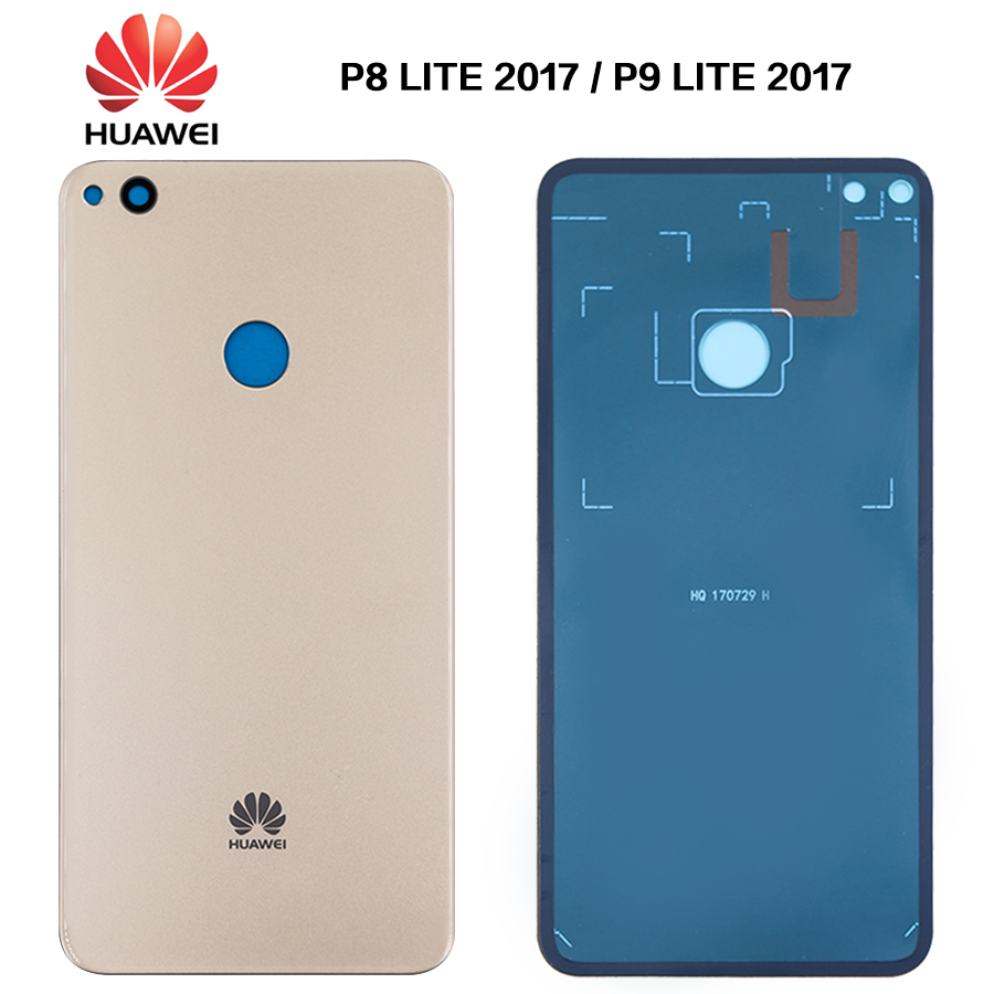 New Rear Housing Case For Huawei P8 Lite 2017 / P9 Lite 2017 Battery Back Cover Battery Door Back Rear Cover