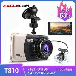 Новинка 2017 года 4.0 дюймов IPS Экран Видеорегистраторы для автомобилей Новатэк Автомобильный Камера T810 oncam тире Камера Full HD 1080 P видео 170 градус...