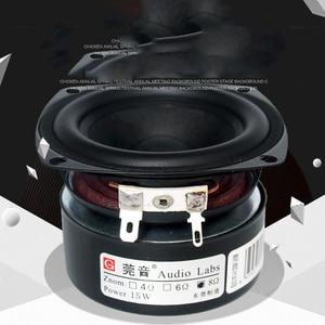 Image 3 - Kaolanhon 1Pcs 5 15W 4 ~ 8 Ohm 3 Inch Full Range Versterker Luidspreker Bas Mellow fijne Treble Zoete Hifi Luidspreker Geluidskwaliteit