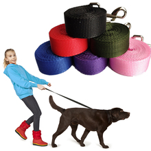 Dog Running Traction-Rope Leash Lead Walking-Dog Outdoor Nylon Pet-Dog 6/10m-Length