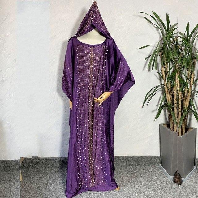 2020 Afrika Kleding Afrikaanse Jurken Voor Vrouwen Moslim Lange Jurk Hoge Kwaliteit Lengte Mode Afrikaanse Jurk Voor Lady