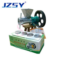 25 40kg/h Automatic Electrical flour puffed food extruding machine/puffed snack puffing extruder/rice dumpling making machine