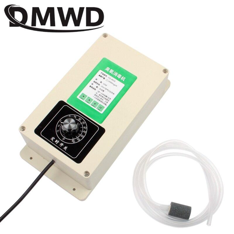 DMWD портативный генератор озона 2000 мг/ч озонатор фрукты овощи еда вода стерилизатор очиститель воздуха озонатор таймер ЕС США
