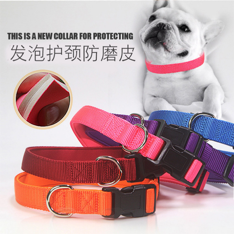 Dog Neck Ring Traction Collar Collar Teddy Small And Medium-sized Dogs Dog Bandana Necklace Pet Supplies