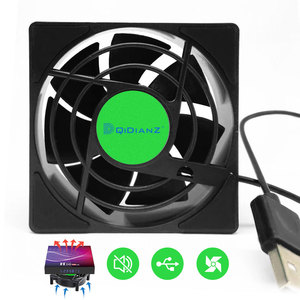 USB Cooling Fan For TV Box Wireless Wifi Router Smart Set-Top Box Silent Quiet Cooler DC 5V USB Power 2500 RPM