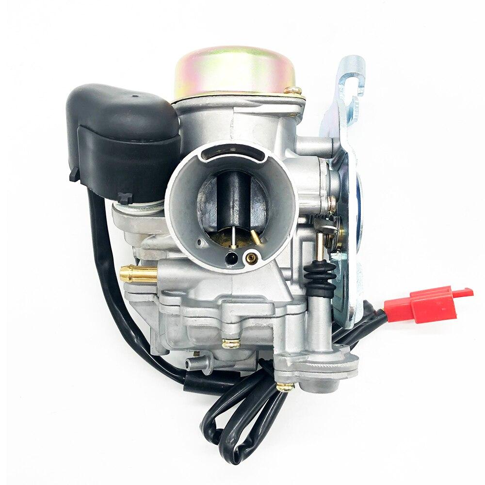 30 Carb 30mm Carburetor For Tank Touring De 250B Yamaha Linhai 260cc 300cc Parts