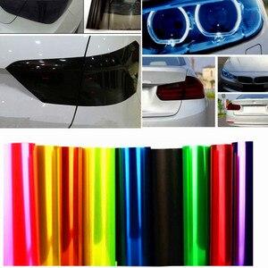 30 см x 100 см Авто Оттенок головной светильник задняя фара туман светильник тумана светильник Винил Дым пленочный лист Стикеры для Bmw E90 E91 E92 E93 E60 E87 E82 E46