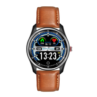 MX9 ECG Smart Watch Touch Screen Heart Rate Blood Pressure Monitor ECG+PPG ECG HRV Report IP68 Waterproof