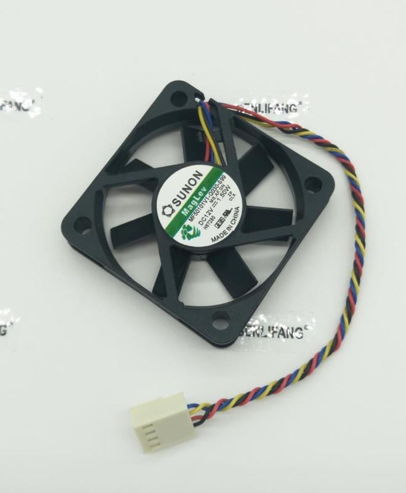 Original MF50101V1-Q030-S99 5010 12V 1.50W 5cm Four-wire PWM Cooling Fan