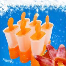 """Многоразовые 6-сетки мороженое на палочке плесень лоток с подставкой кухонный инструмент """"сделай сам"""""""