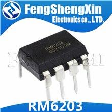 10 шт./лот RM6203 CR6203 DIP-8 импульсный чип питания