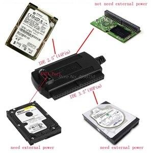 """Image 4 - الجملة دروبشيبينغ USB 2.0 إلى IDE/SATA 2.5 """"3.5"""" قرص صلب HDD محول كابل محول جديد"""
