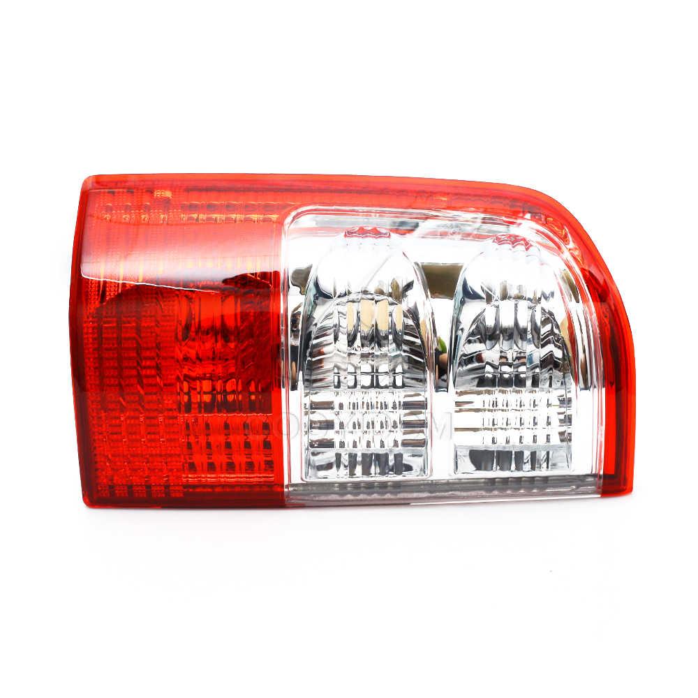 Cubierta de luz trasera de coche COOYIDOM, carcasa de lámpara de freno izquierda derecha roja para Nissan Patrol GU serie 2001 2002 2003 2004