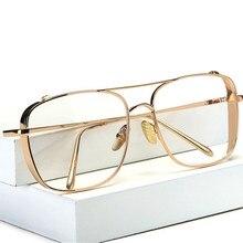 XojoX оптический сплав очки оправа для женщин и мужчин негабаритных прозрачная оправа для очков при близорукости очки мужские женские очки