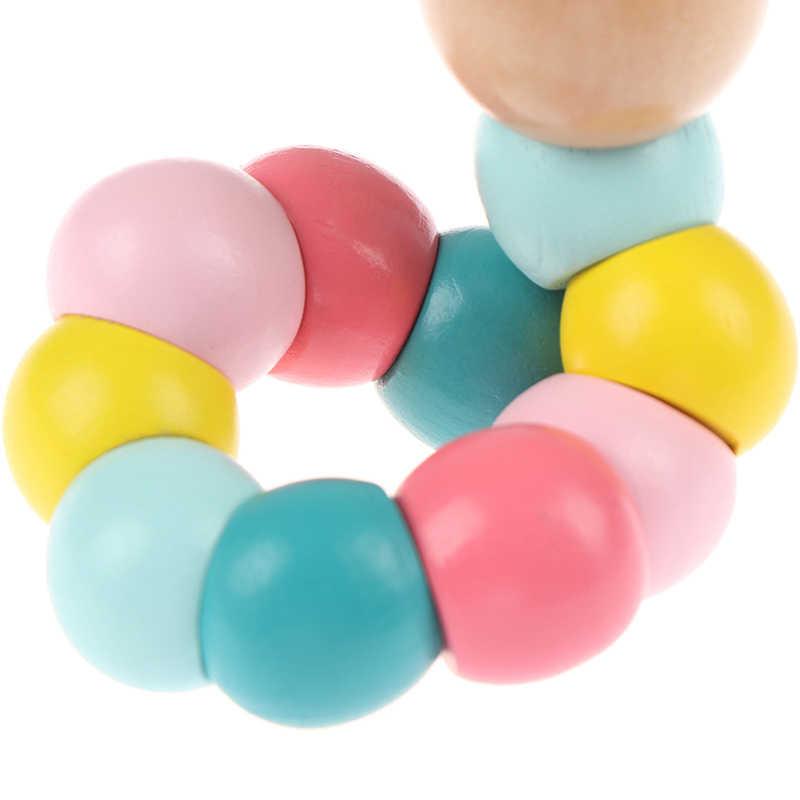 เปลี่ยนรูปร่าง Worm Twist หุ่น Caterpillar เด็กที่มีสีสันความรู้ความเข้าใจ playmate สนุกของขวัญการศึกษาไม้ของเล่นเด็ก