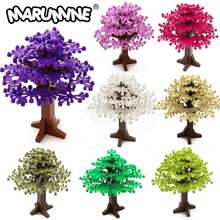 MARUMINE Build Bricks Tree Sets 90PCS Blocks Natural & Technology 165 MM City Park Compatible with All Major Brand Gift For Kid
