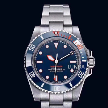 2019 Classic  New Men Automatic Mechanical Watches Silver Red Black Green Blue Stainless Steel Ceramic Bezel Sapphire Watch hot mens watch automatic mechanical watches gmt stainless steel blue red ceramic sapphire glass 40mm men watches wrist watches