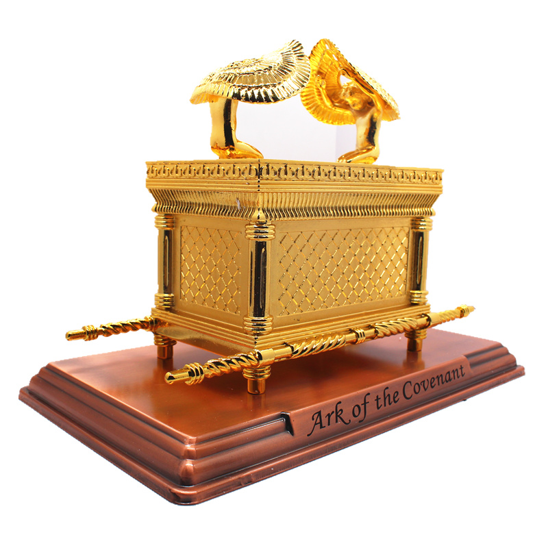 Big Ark Of Covenant Gold-plating Christian Handicrafts Church Jesus Ark  Religious