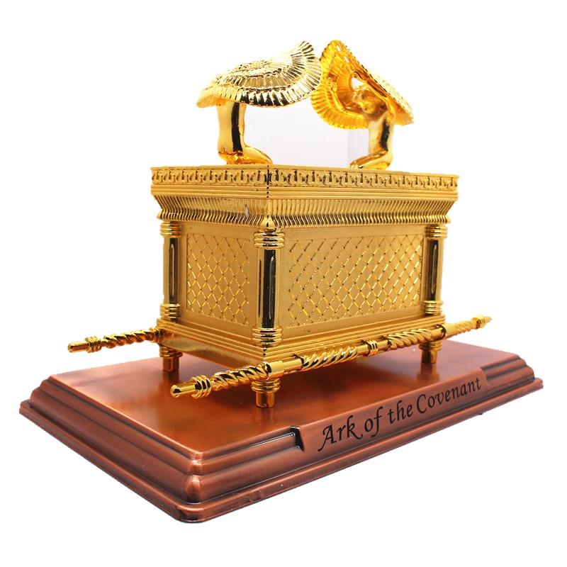 Big Ark Of Covenant Gold-plating Christian Handicrafts Church Jesus Ark  Religious