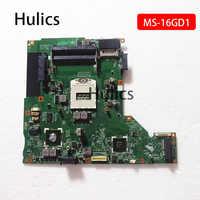 Hulics Original para MSI CX61 CX60 CR60 placa base de computadora portátil s947 MS-16GD1 placa base MS-16GD Tablero Principal