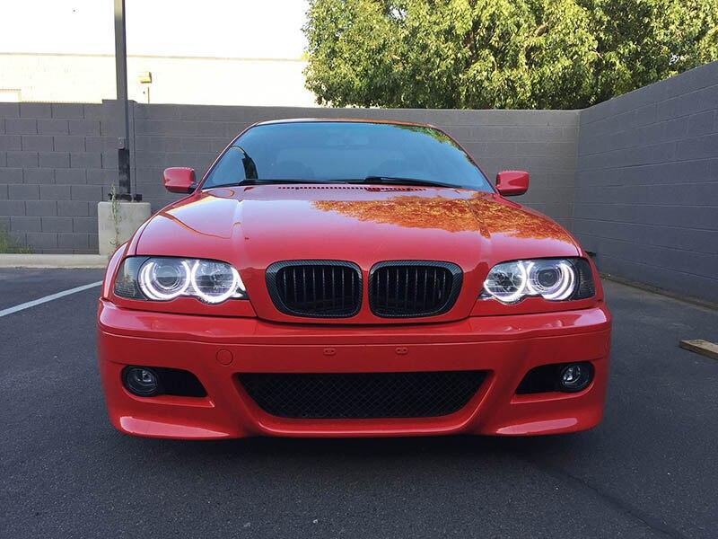 Turismo para bmw e46 sedan, com projetores,