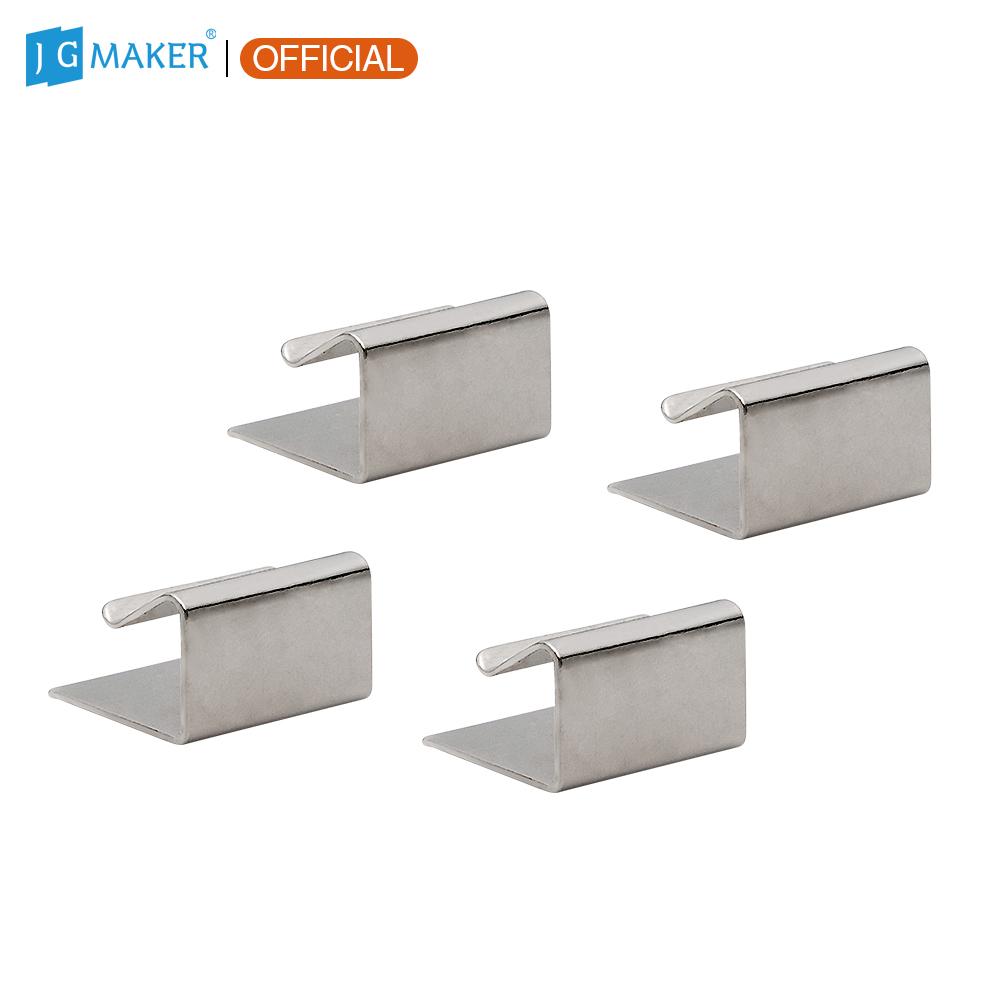 JGMAKER 4pcs/lot 3D Printer Heated Bed Clips CLIP For A3S A5S 3D Printer JGAURORA