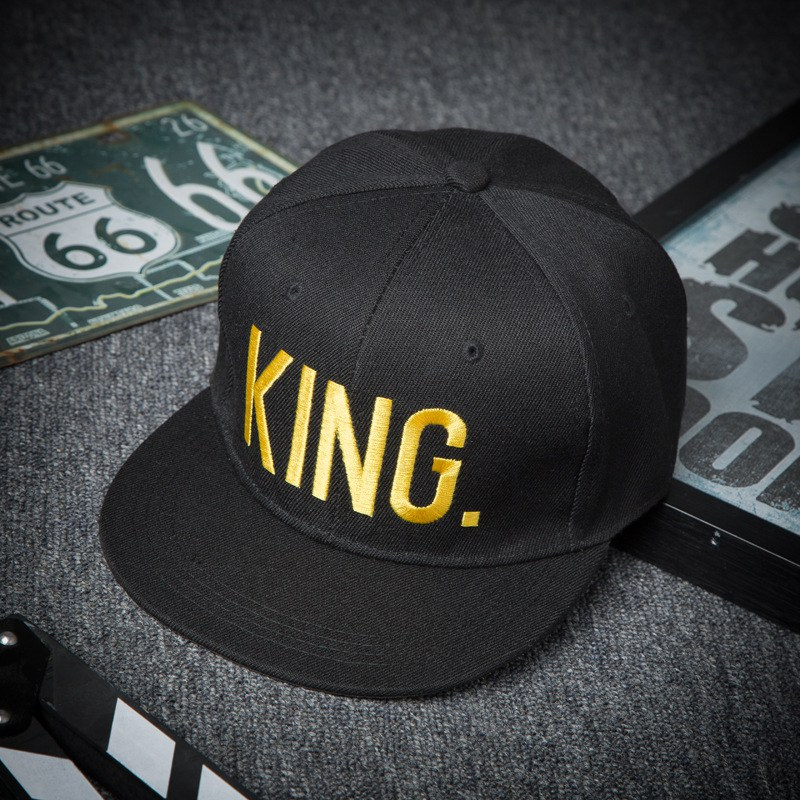 Fashion-KING-QUEEN-Men-s-Women-s-Baseball-Hat-Spring-Band-King-Queen-Embroidery-Couple-Hip (6)