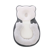 Anti Flat Head Baby Pillow Newborn Baby Sleep Positioning Pad Anti Roll Baby Head Shaping Pillows Infant Sleep Mattress