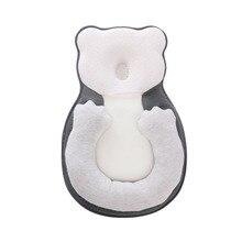 Anti Platte Kop Baby Kussen Pasgeboren Baby Slaap Positionering Pad Anti Roll Baby Head Vormgeven Kussens Infant Sleep Matras