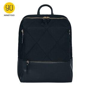 Image 3 - NINETYGO 90FUN moda elmas kafes sırt çantası 14 inç laptop çantaları kadınlar kızlar bayanlar için okul koleji için seyahat gezisi