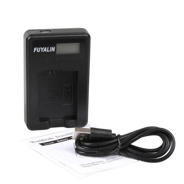 LCD USB Battery Charger EN EL19 ENEL19 Per Nikon Coolpix S32 S33 S100 S5200 S3300 S3400 S6400 S7000 S6900 S6800 S4100 s4400