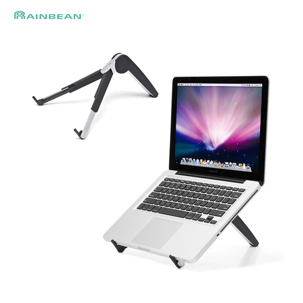 Folding Laptop Holder Pc Stand With Stretching Legs And Adjusting  Bracket For 11~16 Inch Computer Notebook Portable Lap Desk